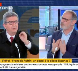 Jean-Luc Mélenchon sur Franceinfo