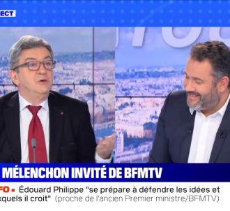 Jean-Luc Mélenchon sur BFMTV.