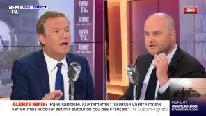 Clash avec Nicolas Dupont-Aignan sur BFMTV, les adieux de Nagui, des journalistes agressés : La veille Pure Médias