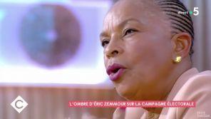 """Christiane Taubira : """"On entend trop Eric Zemmour dans les médias !"""""""
