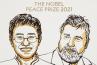 Le prix Nobel de la paix 2021 attribué aux journalistes Maria Ressa et Dmitry Muratov