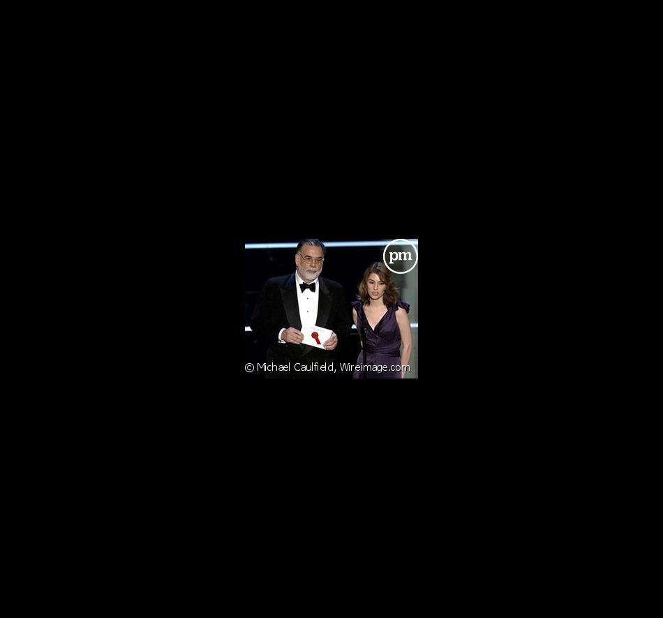 Francis Ford Coppola et sa fille Sofia Coppola aux 76e Academy Awards (2004)