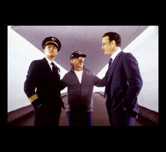 Leonardo DiCaprio en compagnie de Tom Hanks et de Steven...