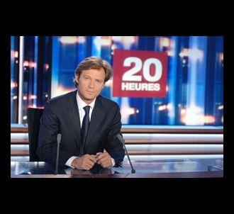 Laurent Delahousse aux manettes du 20H de France 2