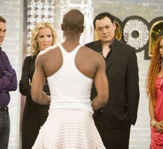 Le jury de 'Popstars 2007' durant les auditions :...