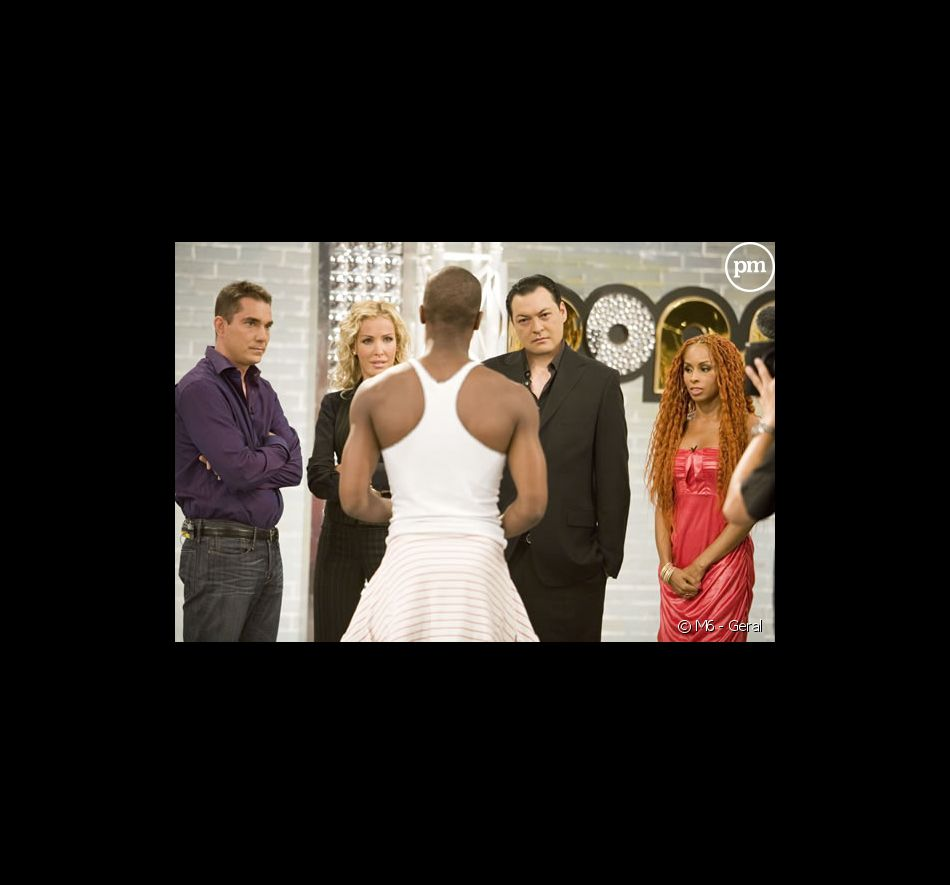 "Le jury de ""Popstars 2007"" durant les auditions : Sebastien Farran, Ophelie Winter, Benjamin Chulvanij, Mia Frye"