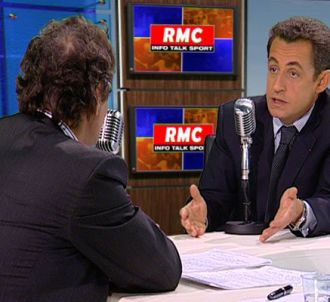 Nicolas Sarkozy invité de Jean-Jacques Bourdin (lundi 26...