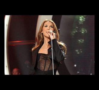 Celine Dion sur le plateau d'American Idol
