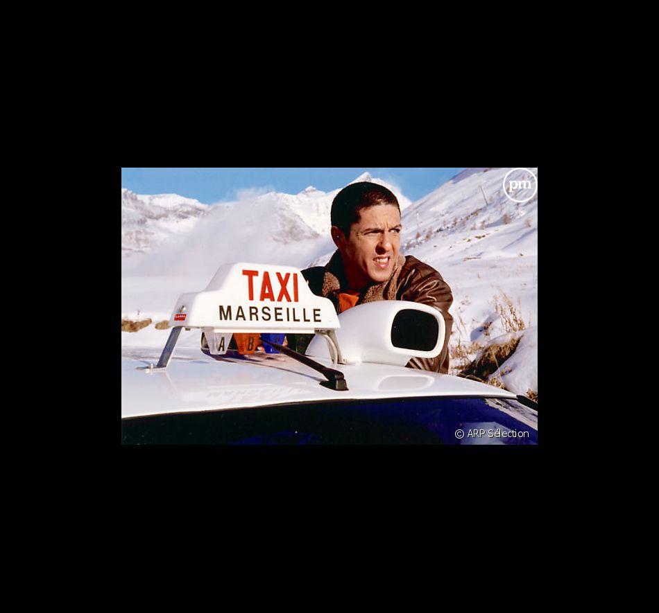 "Samy Nacéri dans ""Taxi 3""."