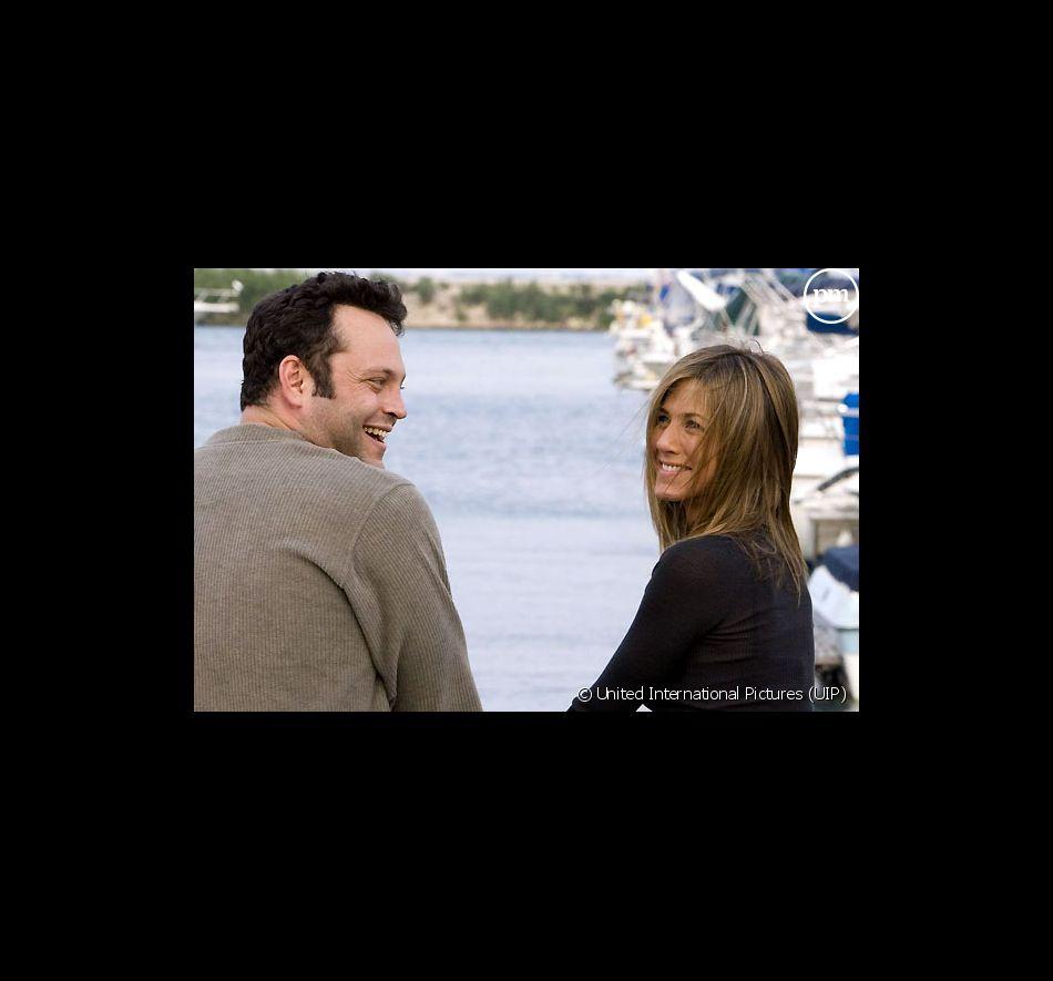 """Vince Vaughn et Jennifer Aniston dans """"La Rupture""""."""