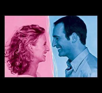 Alexandra Lamy et Jean Dujardin dans 'Un gars, une fille'