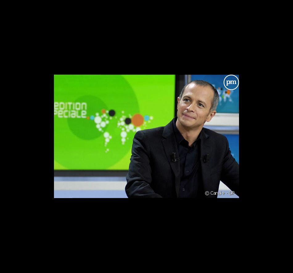 """Samuel Etienne présente """"L'Edition spéciale"""" sur Canal+"""