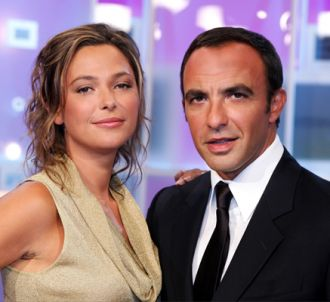 Sandrine Quétier et Nikos Aliagas pour '50 minutes inside'.