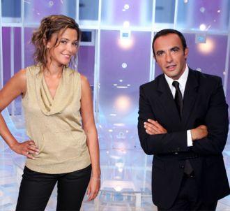Sandrine Quétier et Nikos Aliagas pour '50mn inside'.
