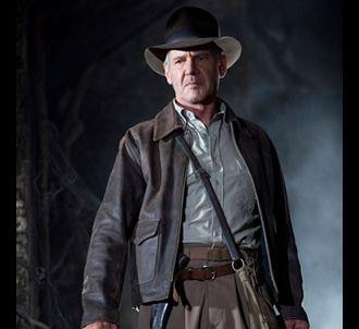 Harrison Ford dans 'Indiana Jones et le Royaume du Crâne...