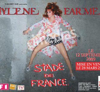 Mylène Farmer en concert au Stade de France