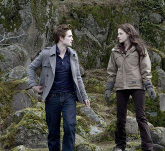 Robert Pattinson et Kristen Stewart dans 'Twilight -...