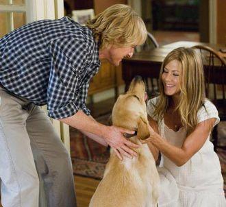 Owen Wilson et Jennifer Aniston dans 'Marley et Moi'