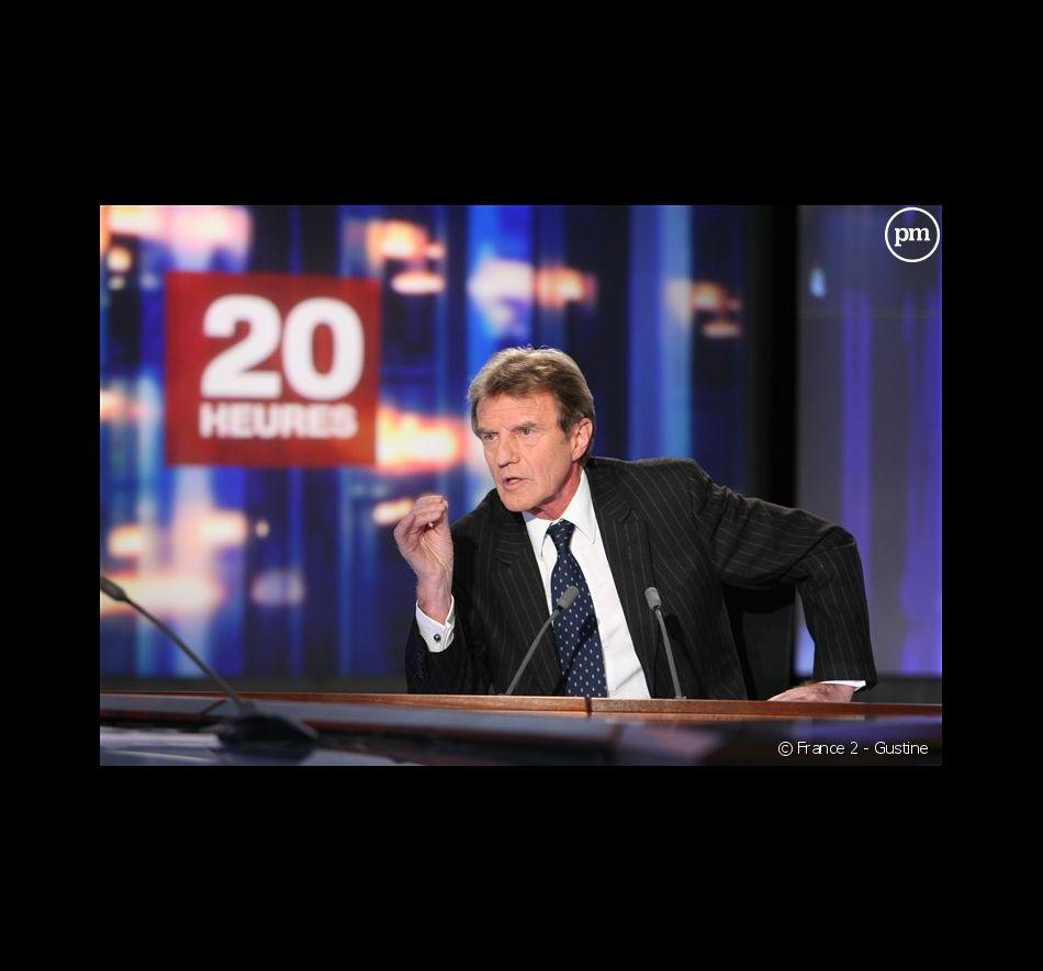 """Bernard Kouchner invité du """"20 Heures"""" de France 2, le 4 février 2009"""