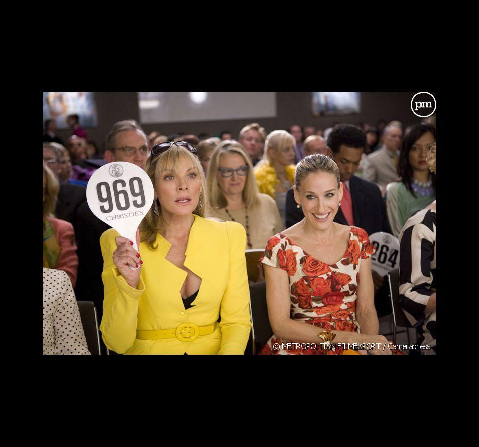 """Kim Cattrall et Sarah Jessica Parker dans """"Sex & the City : le film"""""""