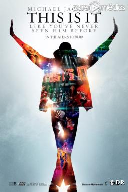 "Affiche du film ""This is it"" consacré à Michael Jackson"