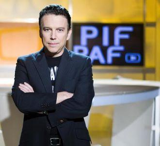 Philippe Vandel sur le plateau de 'Pif Paf'
