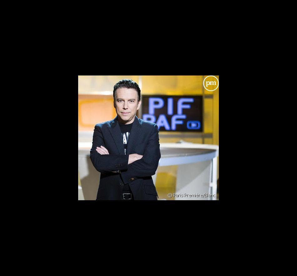"""Philippe Vandel sur le plateau de """"Pif Paf"""""""