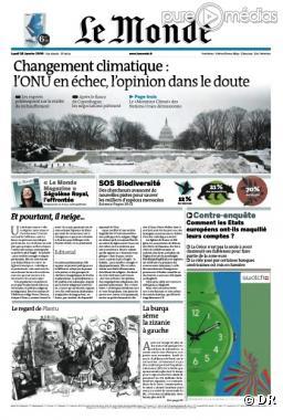 La nouvelle Une à découvrir dès le 29 mars 2010.