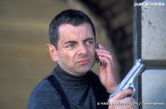 "Rowan Atkinson dans ""Johnny English"""