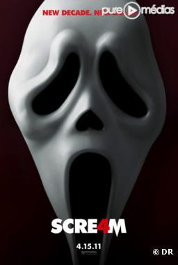 """L affiche de """"Scream 4"""""""