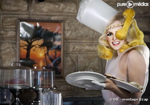 "Britney Spears chante ""Telephone"" de Lady GaGa"