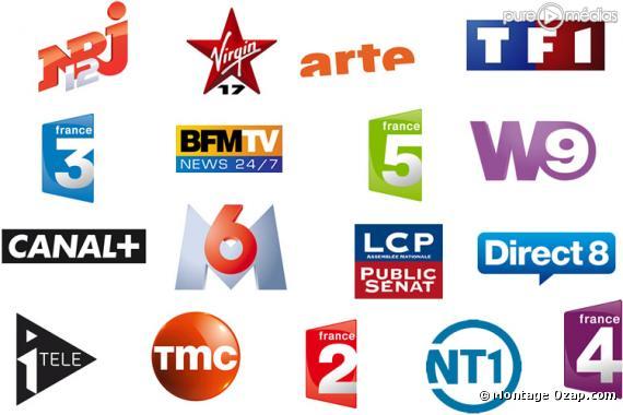 Les logos de la TNT gratuite.