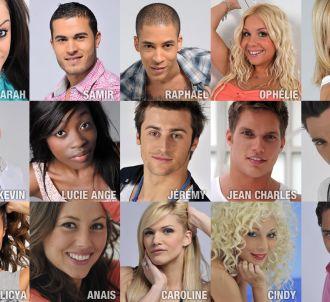 Les participants à 'Dilemme' sur W9 (saison 1, 2010)