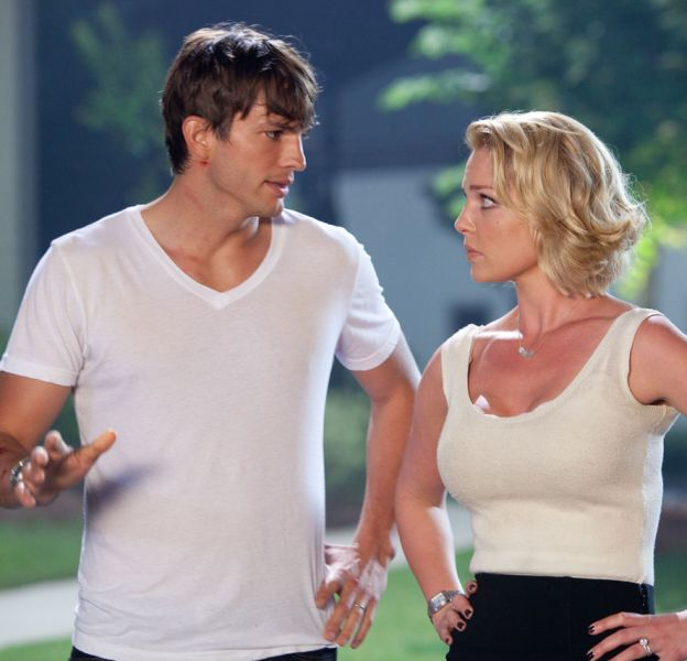 "Ashton Kutcher et Katherine Heigl dans ""Kiss & Kill"""