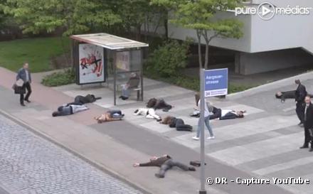 La campagne de Greenpeace contre les risques du nucléaire en Suisse