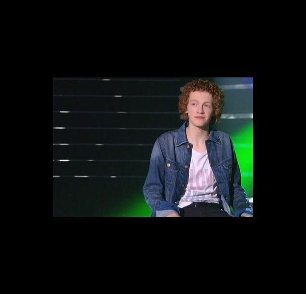 """Benjamin, candidat de """"Nouvelle Star"""", en 2010 sur M6"""