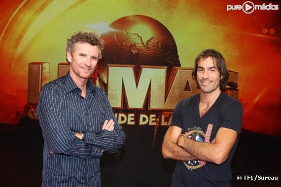 Denis Brogniart et Robert Pirès
