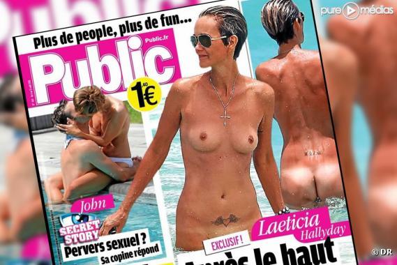 """La Une de """"Public"""" (6 août 2010)."""