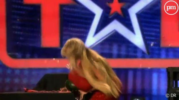 """Une candidate de l""""Incroyable talent"""" allemand."""
