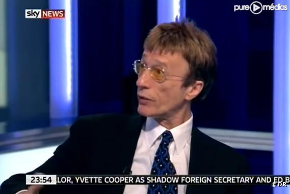 Robin Gibb sur Sky News