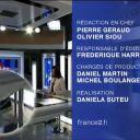 Marie Drucker au 20h de France 2 samedi 30 octobre 2010