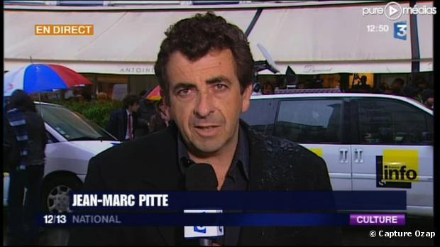 Jean-Marc Pitte, journaliste à France 3
