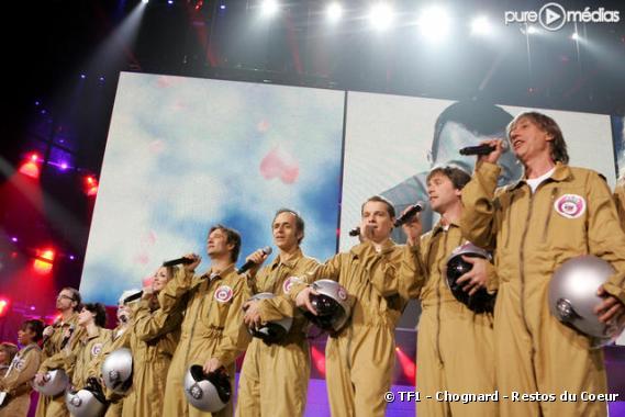 """""""Les Enfoirés 2009"""" sur TF1 et RTL"""