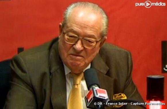 Jean-Marie Le Pen, le 12 janvier 2010 sur France Inter