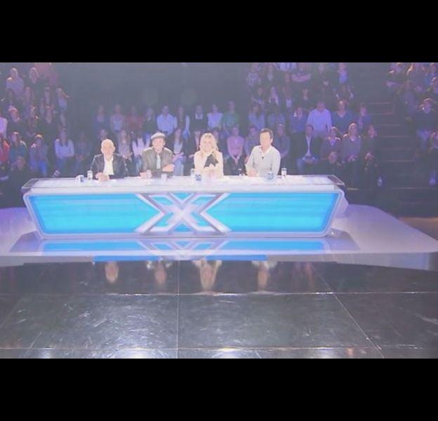 """L'émission """"X-Factor"""", en 2011 sur M6"""