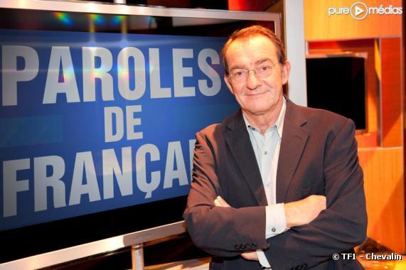 """Jean-Pierre Pernaut sur le plateau de """"Paroles de Français"""""""