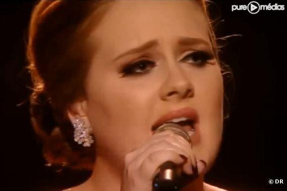 Adele aux Brit Awards 2011