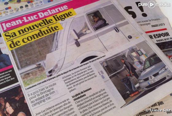 """Jean-Luc Delarue dans """"France Soir"""" du 24 février 2011"""