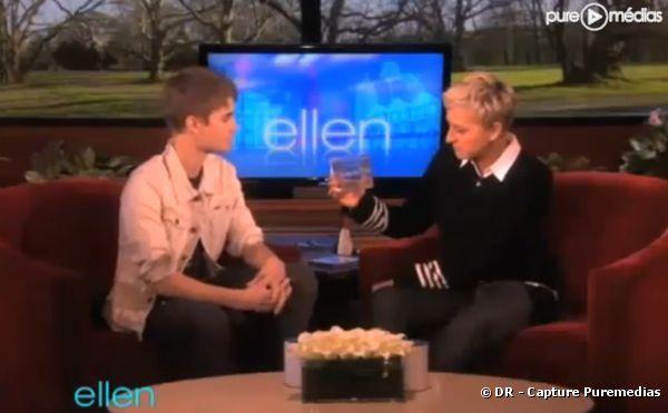 Justin Bieber invité du talk-show d'Ellen de Generes