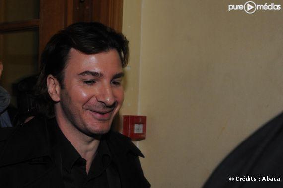 Michael Youn lors de son arrivée au tribunal correctionnel de Paris, le 7 mars 2011